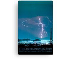 Bo Trek Lightning Strike Poster Canvas Print