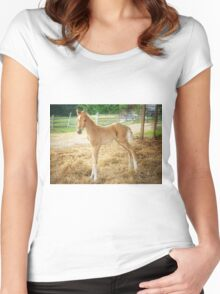 """""""Encore, The Miracle Colt"""" Women's Fitted Scoop T-Shirt"""