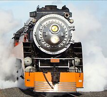 American Freedom Train Locomotive #4449 by Susan Vinson