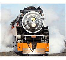 American Freedom Train Locomotive #4449 Photographic Print