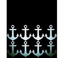Anchors and Anchors and Anchors Photographic Print