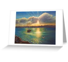 Sunrise Over The Tweed Greeting Card