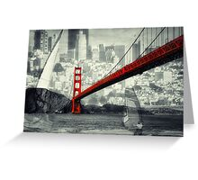Essence of San Francisco Greeting Card
