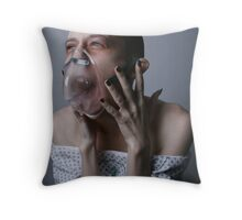 The Patient needs therapy Throw Pillow