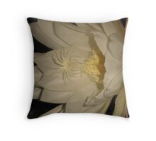 Night Blooming Epiphyllum Throw Pillow