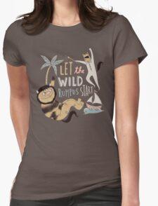 Wild rumpus Womens Fitted T-Shirt