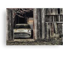 Baseball/Hotdogs/Applepie and Chevrolets Canvas Print