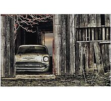 Baseball/Hotdogs/Applepie and Chevrolets Photographic Print