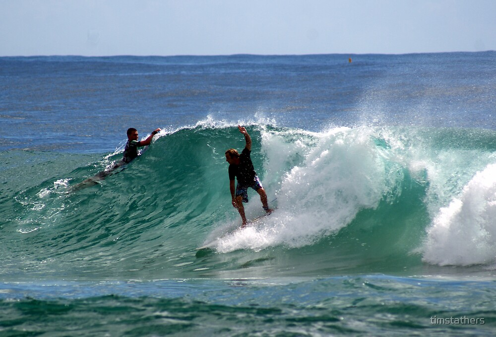 Surf -  Byron Bay, Australia by timstathers
