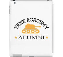 Tank academy alumni iPad Case/Skin