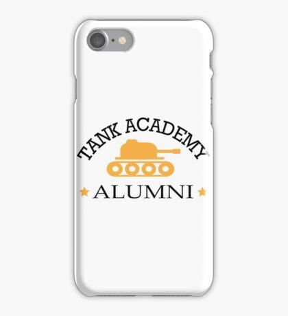 Tank academy alumni iPhone Case/Skin