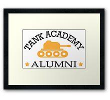 Tank academy alumni Framed Print