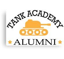 Tank academy alumni Canvas Print