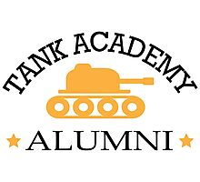 Tank academy alumni Photographic Print