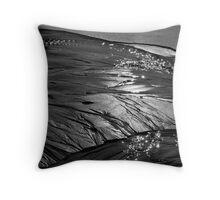 Black Sand 02 Throw Pillow