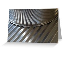 Abstract Puzzle Greeting Card