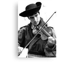 Da Fiddler Canvas Print