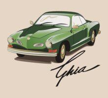 The Karmann Ghia by Sarah Caudle