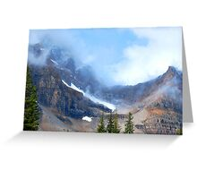 Misty Ramparts Greeting Card