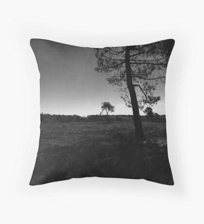 Grey scale  Throw Pillow