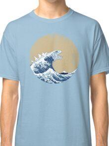 Hokusai Kaiju - Vintage Version Classic T-Shirt
