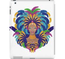 Beautiful carnival girl iPad Case/Skin