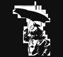 Taucher mit Schirm by derP
