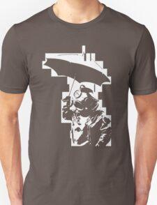 Taucher mit Schirm T-Shirt
