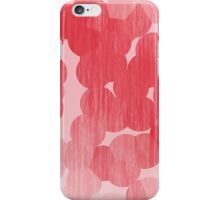 Red Stained Bubbles iPhone Case/Skin