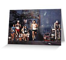 Runners Greeting Card