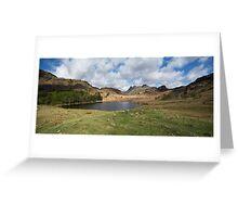 Blea Tarn Cumbria England Greeting Card