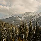 Snow at the Top by Ken Fortie