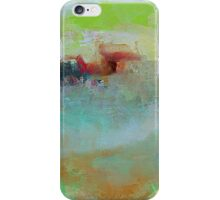 The Village on The Hill, Impressionism Art iPhone Case/Skin
