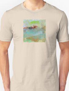 The Village on The Hill, Impressionism Art T-Shirt