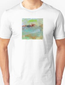 The Village on The Hill, Impressionism Art Unisex T-Shirt
