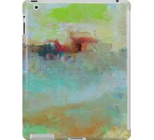 The Village on The Hill, Impressionism Art iPad Case/Skin