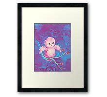 Precious Owl Framed Print