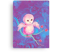 Precious Owl Canvas Print
