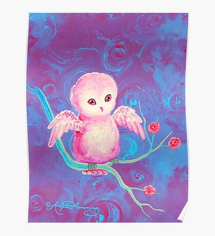 Precious Owl Poster