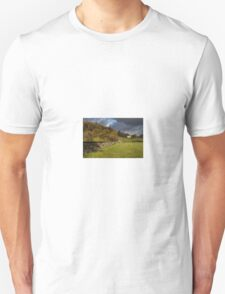 Dry Stone Wall and Barn Landscape Unisex T-Shirt