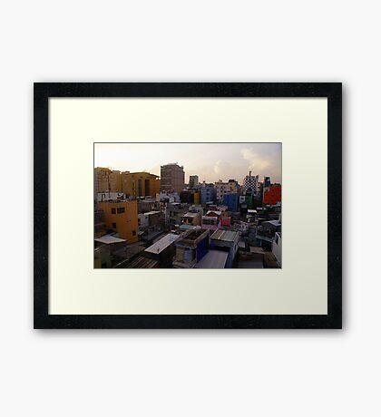 Saigon, Saigon - Vietnam Framed Print