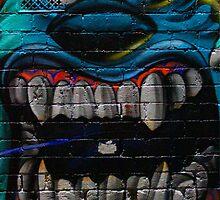 James P. Sullivan from Monsters Inc - Hosier Lane, Melbourne by mattykb