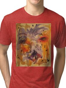 Man in square by Darryl kravitz Tri-blend T-Shirt