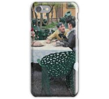 A Romantic Garden Cafe At Grounds for Sculpture iPhone Case/Skin