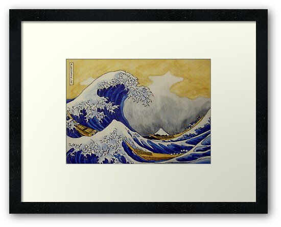 The Great Wave by Alexandra Felgate
