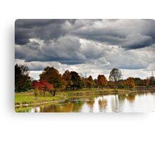 Lake Katherine Autumn Colors Canvas Print