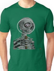 MAGNIFYING GLASS/ MESSAGE IN EYE Unisex T-Shirt