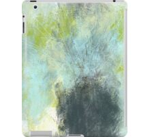 Vintage Floral in Pastel Blue and Green iPad Case/Skin