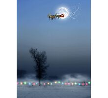 Sleigh bells ring, are you listening? Photographic Print