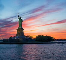 Statue of Liberty by Adam North